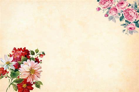 flower background watercolor  image  pixabay