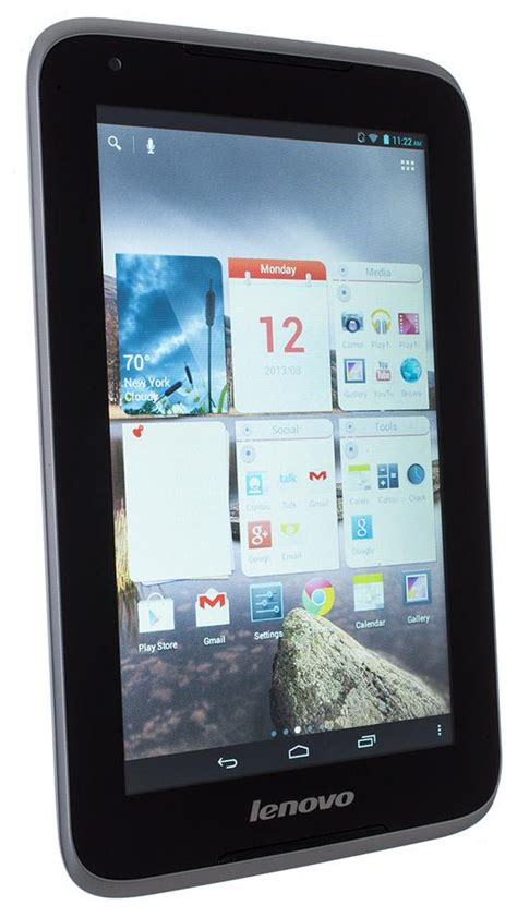 Tablet Lenovo A1000 T Lenovo Ideatab A1000 Review Rating Pcmag