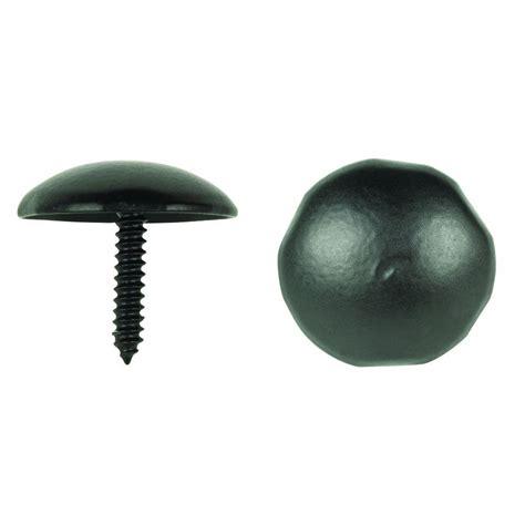 decorative nail heads crown metalworks black decorative nail heads 12 pack