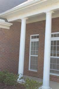 dens gens creatifs front porch column bird solution
