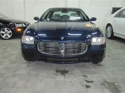 Used Cars For Sale In Englewood Nj Sell Used 2007 Maserati Quattroporte Sport Gt Sedan 4 Door