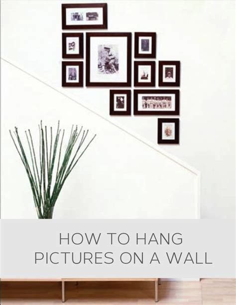 how to hang wall art how to hang pictures on a wall home decor pinterest