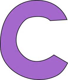 color with c purple letter c clip purple letter c image