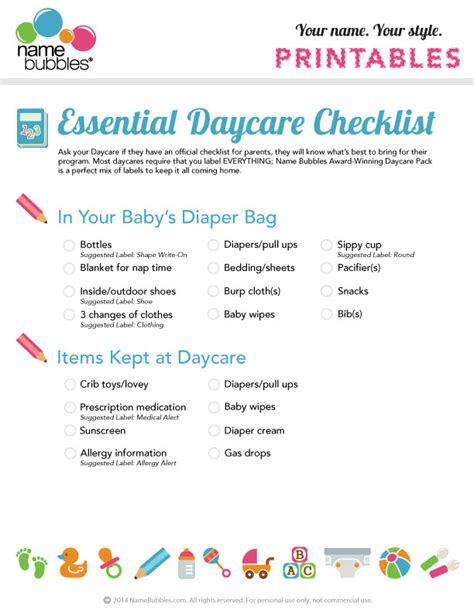 daycare cleaning checklist templates the essential daycare checklist