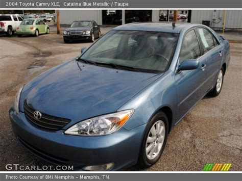 2004 blue toyota camry blue metallic 2004 toyota camry xle taupe