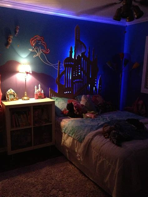 little mermaid bedroom little mermaid bedroom by cmv cv design pinterest