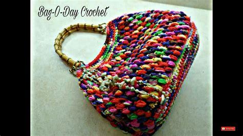crochet bag pattern tutorial crochet how to crochet puff bean stitch handbag purse