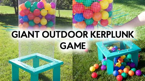 backyard kerplunk giant kerplunk game www pixshark com images galleries
