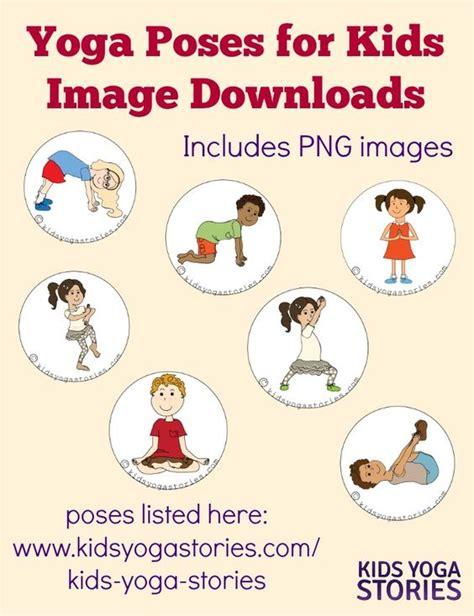 printable yoga poses for preschoolers pinterest the world s catalog of ideas