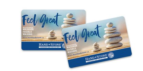 Hand And Stone Gift Card - spa gift cards gift certificates hand stone massage and facial spa