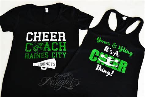 design a cheer shirt eccentric designs by latisha horton custom cheerleader