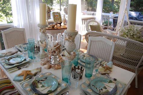 Nautical Themed Dining Room - a beach escape