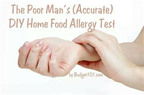 food allergy test food allergies test 1 month diet