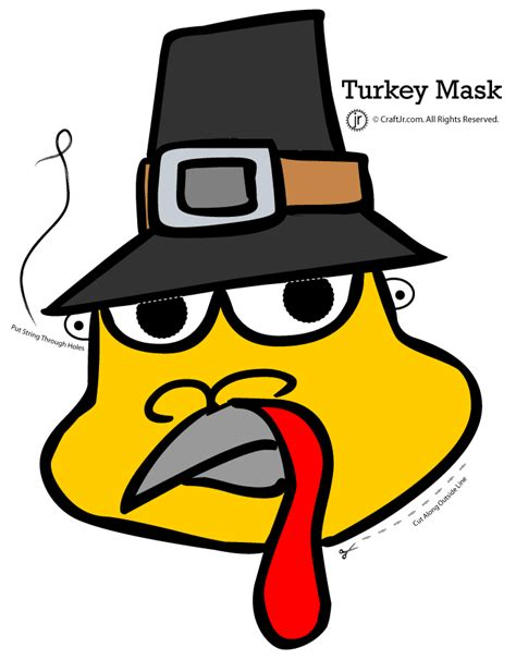 free printable turkey mask template thanksgiving turkey mask woo jr kids activities