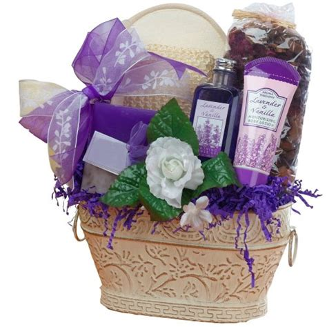 bathroom gift basket ideas of appreciation lavender renewal spa bath and