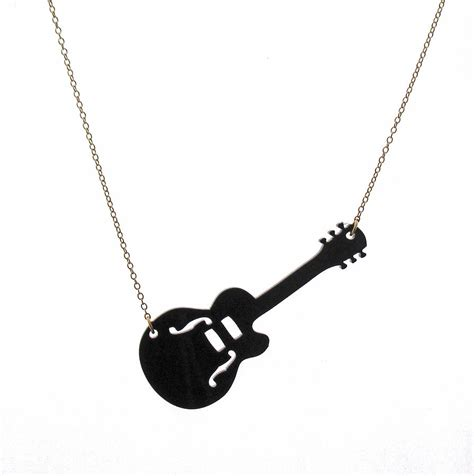guitar jewelry how to make guitar pendant necklace jewelry by rony bank