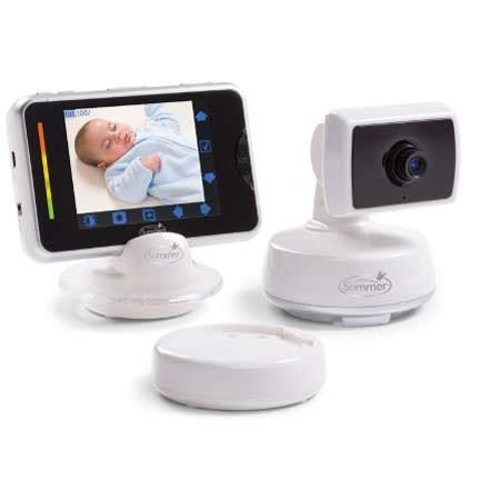 review summer infant baby touch digital color video