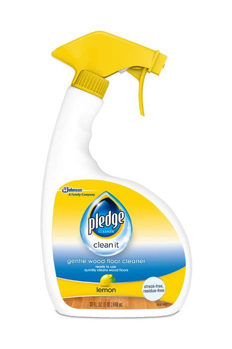 Gentle Wood Floor Cleaner   Pledge®