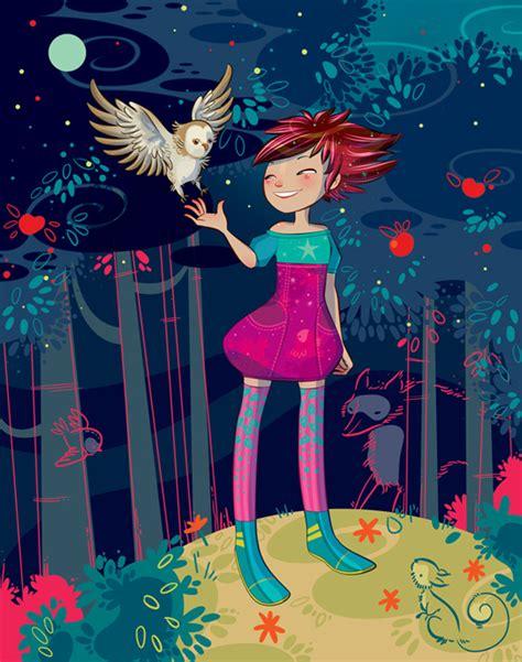 lorena alvarez lorena alvarez purple pinterest owl illustrations