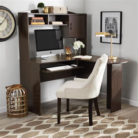 mainstays l shaped desk with hutch finishes manual mainstays l shaped desk with hutch finishes