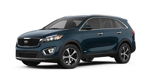 kia sorento options 2018 kia sorento exterior paint color choices and interior