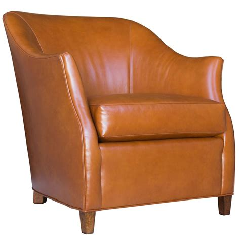 Handmade Leather Chairs - custom leather club chair at 1stdibs