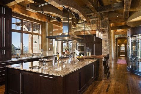 mountain home kitchen design 21 best images about house plans on pinterest sliding