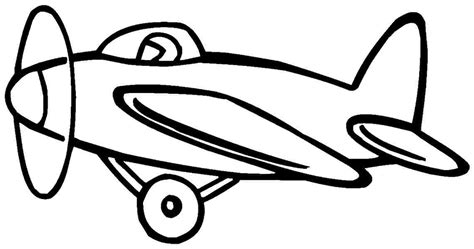 water plane coloring page airplane drawing for kids cliparts co