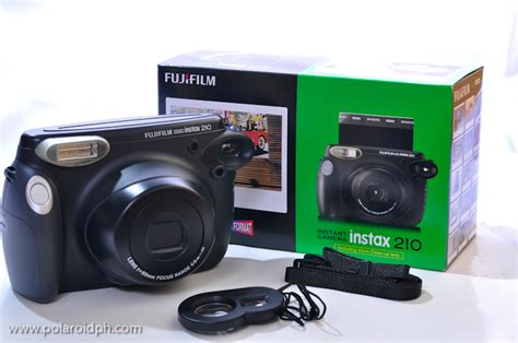 Fujifilm Wide 210 Polaroid image gallery instax