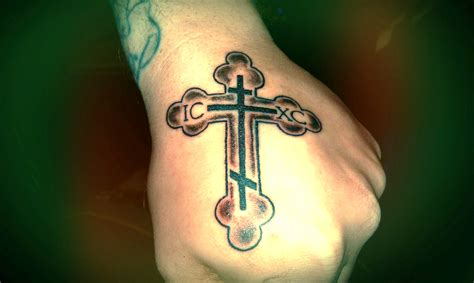 russian cross tattoos cross images designs