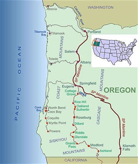 map of oregon railroads what do we by prototype operation model railroad