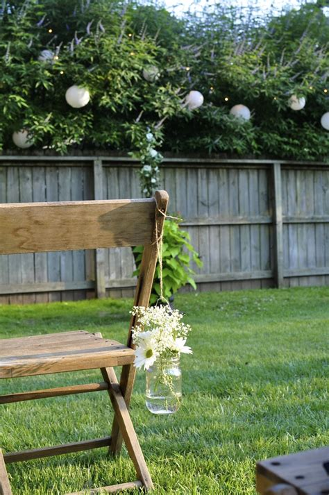 backyard wedding things i created pinterest