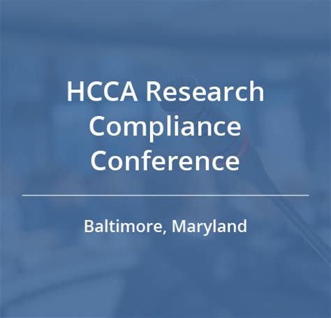 Mba Issues And Regulatory Compliance Conference 2017 by Hcca Research Compliance Conference Cynergistek Inc