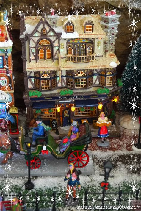 lemax christmas villages lemax 2014 the wesley pub visit our on audreychristmascarol