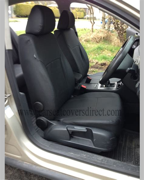 volkswagen vw passat  black seat covers