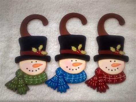 imagenes navideñas hechas de foami picaporte para navidad con fomi