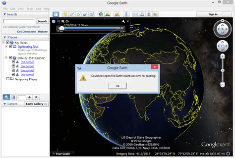 google images not opening kml not opening in google earth through vb net stack