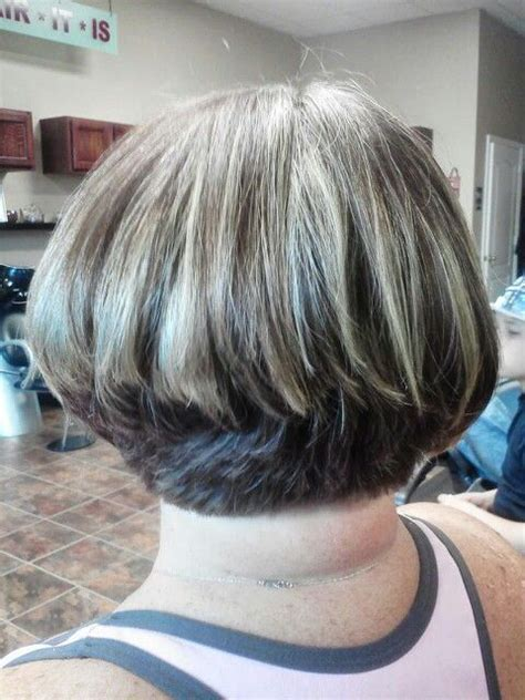 hairstyles blunt stacked short stacked bob gone wrong i do not want this too
