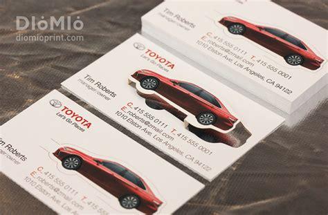 Toyota Card Toyota Business Card Diomioprint