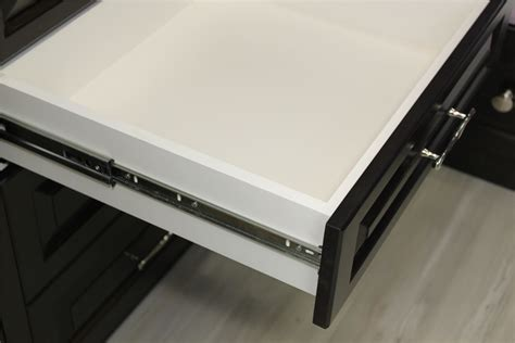push to open drawer runners slides extension 400mm