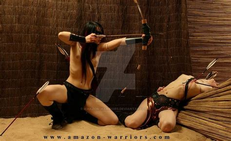 amazon women arrowed defend the fortress by amazon warriors fantasy