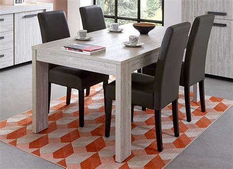 Table à Manger Contemporaine by Meuble Table 224 Manger Contemporaine Ch 234 Ne Blanchi
