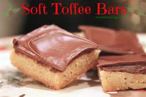 Misty s mornings soft toffee bars christmas cookies
