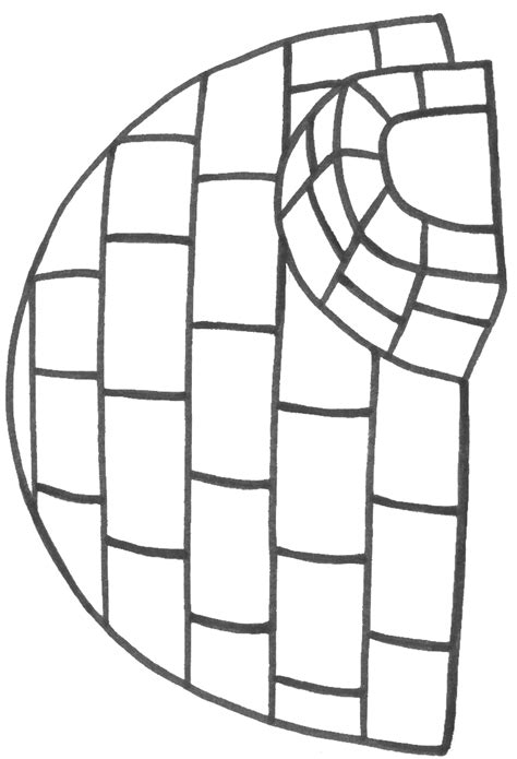 igloo coloring page free igloo coloring sheet can fill with tissue paper cotton