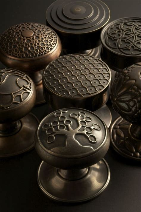 beautiful door knobs from sa baxter finished in various
