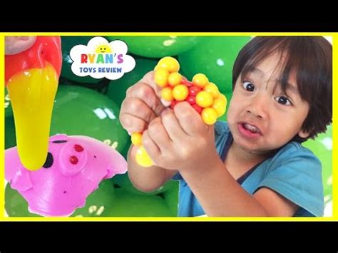 Splattoy Swuishyslime squishy balls mesh slime learn colors and animals cut open squishy splat toddlers and