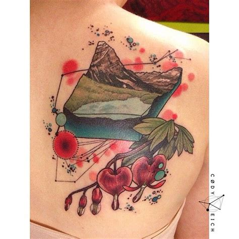 watercolor tattoos alberta watercolor c 216 dy eich tribute to alberta