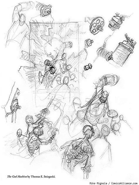 Exclusive Mike Mignola Artwork from 'Hellboy Library