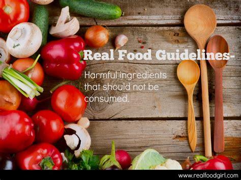 real food real food real food