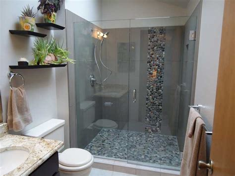 small bathroom ideas with shower only 15 sleek and simple master bathroom shower ideas design